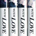 WITH LOVE テレビドラマ VHS全4巻セット VHSネットレンタル ビデオ博物館 廃盤ビデオ専門店 株式会社Kプラス