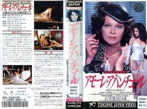 アモーレ・アバンチュール/水着もモラルも脱ぎ捨てて VHSネットレンタル ビデオ博物館 廃盤ビデオ専門店 株式会社Kプラス