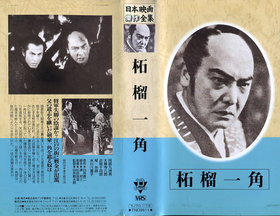 柘榴一角 VHSネットレンタル ビデオ博物館 廃盤ビデオ専門店 株式会社Kプラス