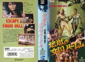 地獄の女囚ハーレム 女囚SEX集団 VHSネットレンタル ビデオ博物館 廃盤ビデオ専門店 株式会社Kプラス