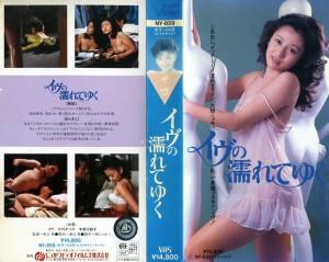 イヴの濡れてゆく VHSネットレンタル ビデオ博物館 廃盤ビデオ専門店 株式会社Kプラス