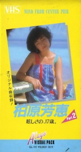 柏原芳恵 眩しさの、17歳。 Part2 VHSネットレンタル ビデオ博物館 廃盤ビデオ専門店 株式会社Kプラス