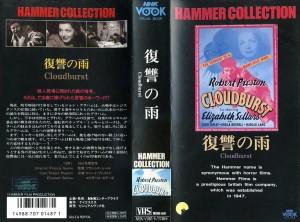復讐の雨 VHSネットレンタル ビデオ博物館 廃盤ビデオ専門店 株式会社Kプラス