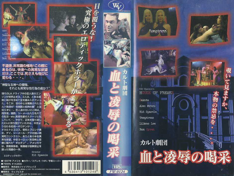 カルト劇団/血と凌辱の喝采 VHSネットレンタル ビデオ博物館 廃盤ビデオ専門店 株式会社Kプラス