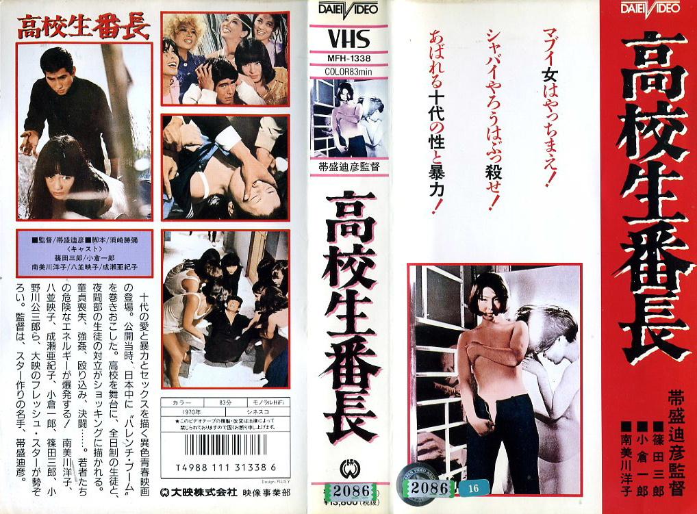 高校生番長 VHSネットレンタル ビデオ博物館 廃盤ビデオ専門店 株式会社Kプラス