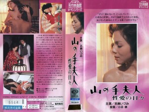 山の手夫人 性愛の日々 VHSネットレンタル ビデオ博物館 廃盤ビデオ専門店 株式会社Kプラス