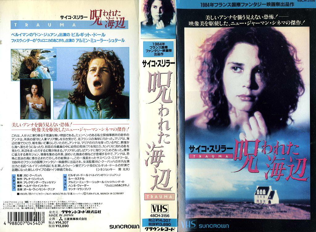 サイコ・スリラー/呪われた海辺 VHSネットレンタル ビデオ博物館 廃盤ビデオ専門店 株式会社Kプラス
