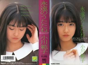 小川範子 永遠のうたたね VHSネットレンタル ビデオ博物館 廃盤ビデオ専門店 株式会社Kプラス