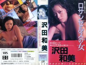 沢田和美 ロサンゼルスの女 VHSネットレンタル ビデオ博物館 廃盤ビデオ専門店 株式会社Kプラス
