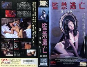 監禁逃亡 淫らな呪い VHSネットレンタル ビデオ博物館 廃盤ビデオ専門店 株式会社Kプラス