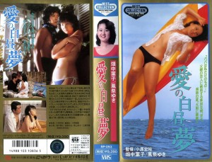 愛の白昼夢 VHSネットレンタル ビデオ博物館 廃盤ビデオ専門店 株式会社Kプラス
