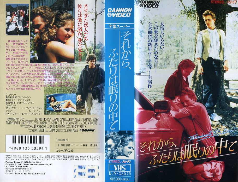 それから、ふたりは眠りの中で VHSネットレンタル ビデオ博物館 廃盤ビデオ専門店 株式会社kプラス
