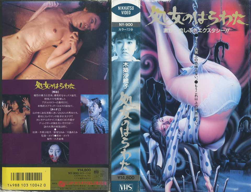処女のはらわた VHSネットレンタル ビデオ博物館 廃盤ビデオ専門店 株式会社kプラス